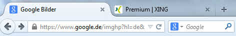 Tabs im Browser