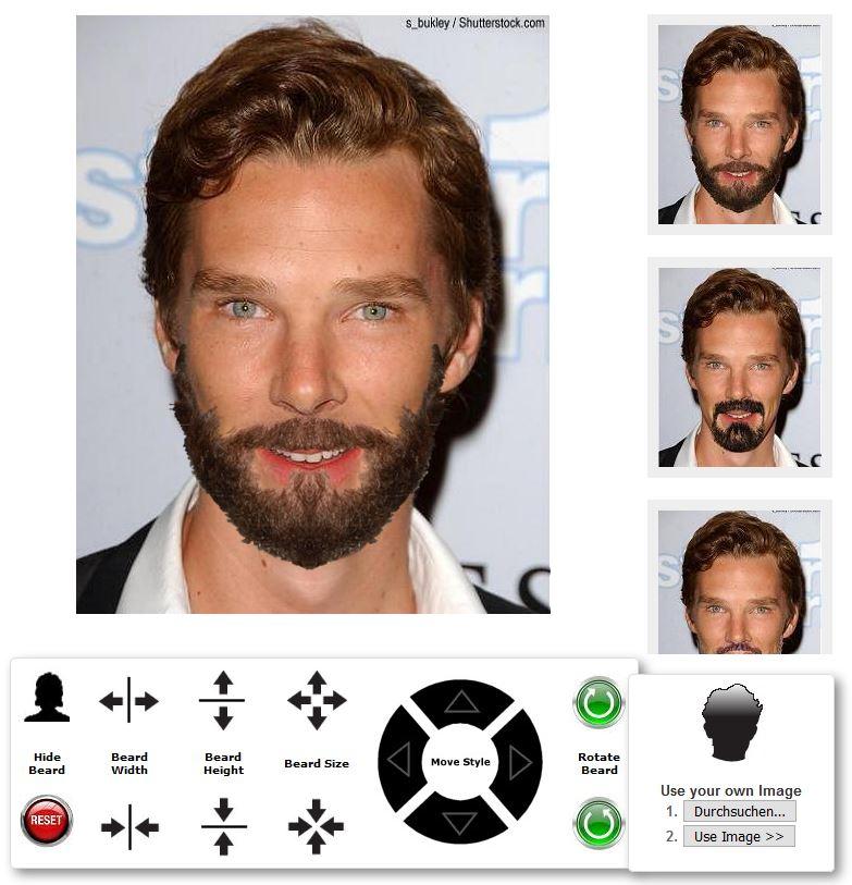 Seriös Auftreten Mit Bart